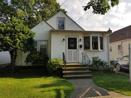 Location! Location! Beautiful Home In The Desirable Floral Park Crest, Nestled Away On A Dead End Street. Great Yard For Entertaining. The Formal Dining Room Has Sliders To A Large Deck and Fenced In Yard w/ Garage. Open Floor Plan Kitchen With Brand New Stainless Steel Appliances & Dining Room For Today's Modern Living. 1st Floor King Sized Master Bedroom and Vaulted Ceiling Living Room. Fabulous Fully Finished Basement With High End Full Bath, Office, Family Room and Separate Laundry /Storage