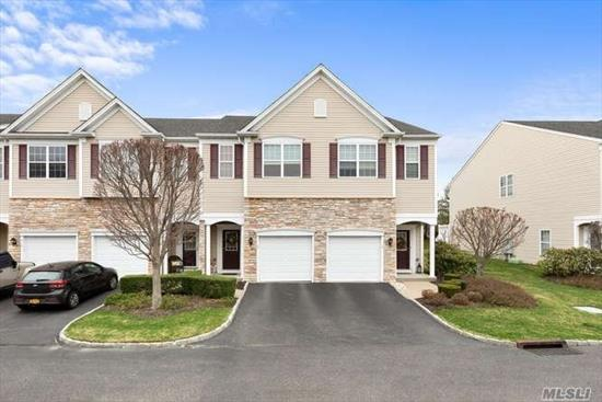 Beautiful Mystic Pines Condo in Excellent Cond, Kit w/Cherry Cabinets, SS Appl, 2 Mstr Brm Suites W/Full Bths, LR, Din Area, Full Bsmt (egress window & ready plumbed), CAC, 2nd Floor laundry, Pool, Clubhouse, Gym, No Age Restriction.