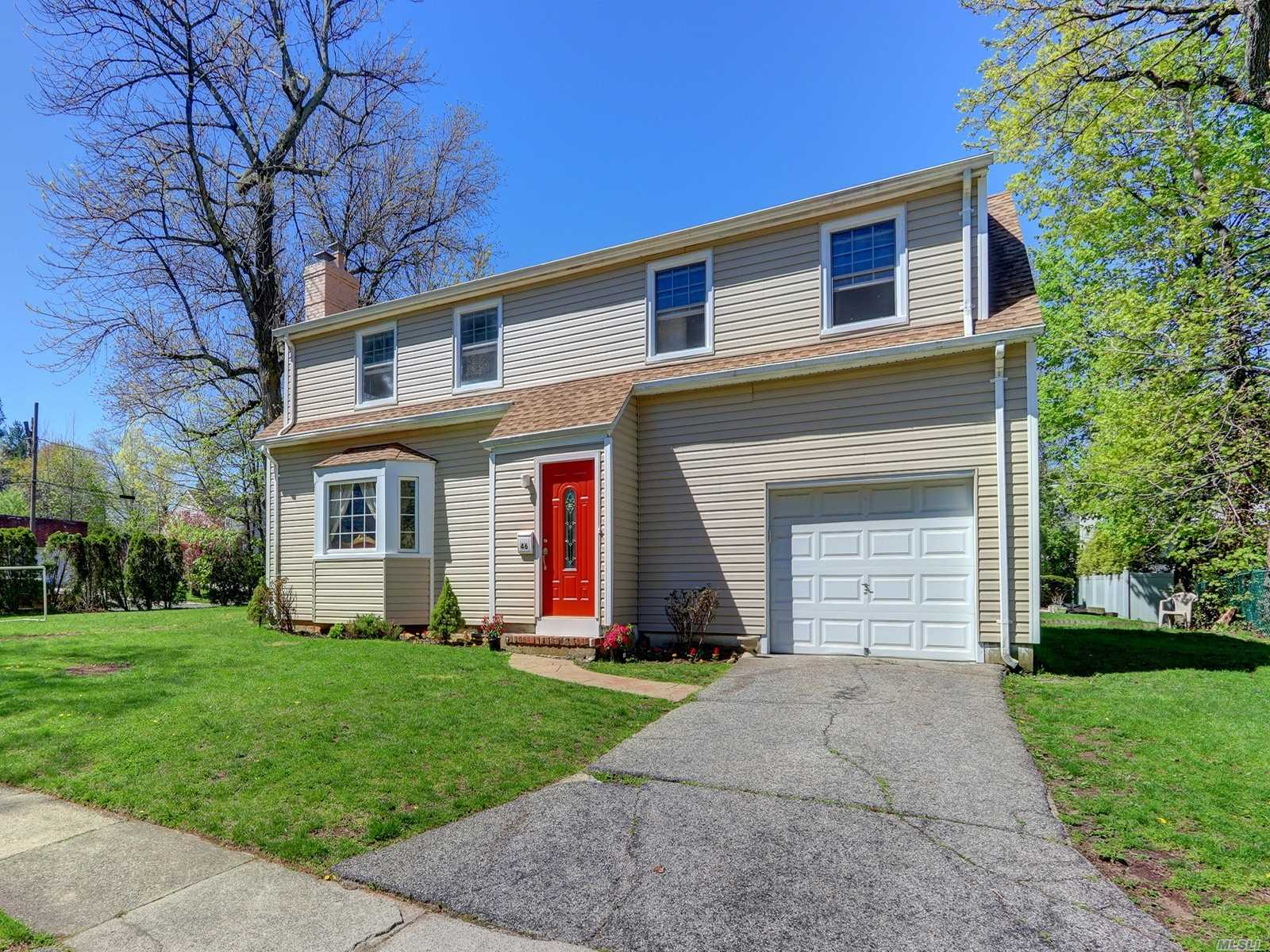 Spacious & Bright Beautiful Side Hall Colonial On Flat Property With Large Living Room & Dining Room, French Doors, Hi-Hats, Hardwood Floors Throughout, Cedar Closet Off Bedroom, Brand New Master Bathroom & Brand New Sidings Throughout, Newly Renovated Basement, Large Private Backyard, New Roof, New Hot Water Heater, No Village Taxes, Homeowners Never Grieved The Taxes.Near Houses Of Worship, Easy Access To Northern Blvd. In Great Neck Park District With Pool, Tennis Courts, Ice-Skating & Waterfront Parks.