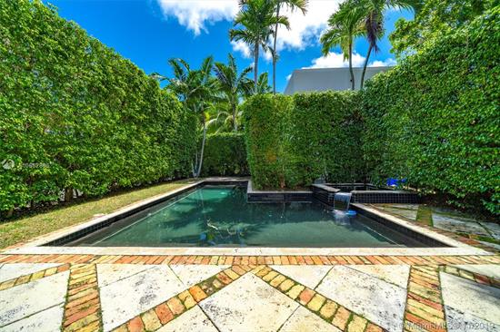 This Two-Story, Mediterranean-Inspired Home Situated In Miami Beach+Ógé¼Gäós Bayshore Neighborhood Seeks A New Family. With 4 Bedrooms And 3.5 Bathrooms, Original Tile Floors And A Fireplace, This House Is Dripping With 3, 897-Square Feet Of Charm. Surrounded By Mature Privacy Hedges Along The Perimeter, The Front Yard, Backyard, And Pool Are Well Secluded. The Property Also Contains A Detached Two-Story, 3-Bedroom, 2-Bathroom Cottage With A Private Yard. Nestled Between Lincoln Road And 41St Street On An Oversized Lot (12, 735 Square Feet), This Home Is Lives In A Quiet, Residential Neighborhood, Yet It+Ógé¼Gäós Close To Excellent Schools, Retail, Restaurants, And, Of Course, The Beach.