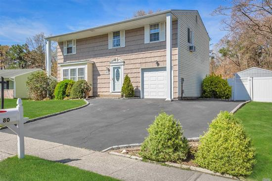 Incredible Opportunity in sought after New England Village. This is the One you have been waiting for! Spacious, Freshly Painted, 4 Bedroom Colonial. NEW kitchen with Granite Counters and Stainless Steel Appliances, Main level Family Room with Cathedral Ceiling, Wood Burning Fireplace, and Sliders to pavered patio overlooks yard which backs to wooded preserve. Full Basement! Plenty of room to entertain inside and outside!