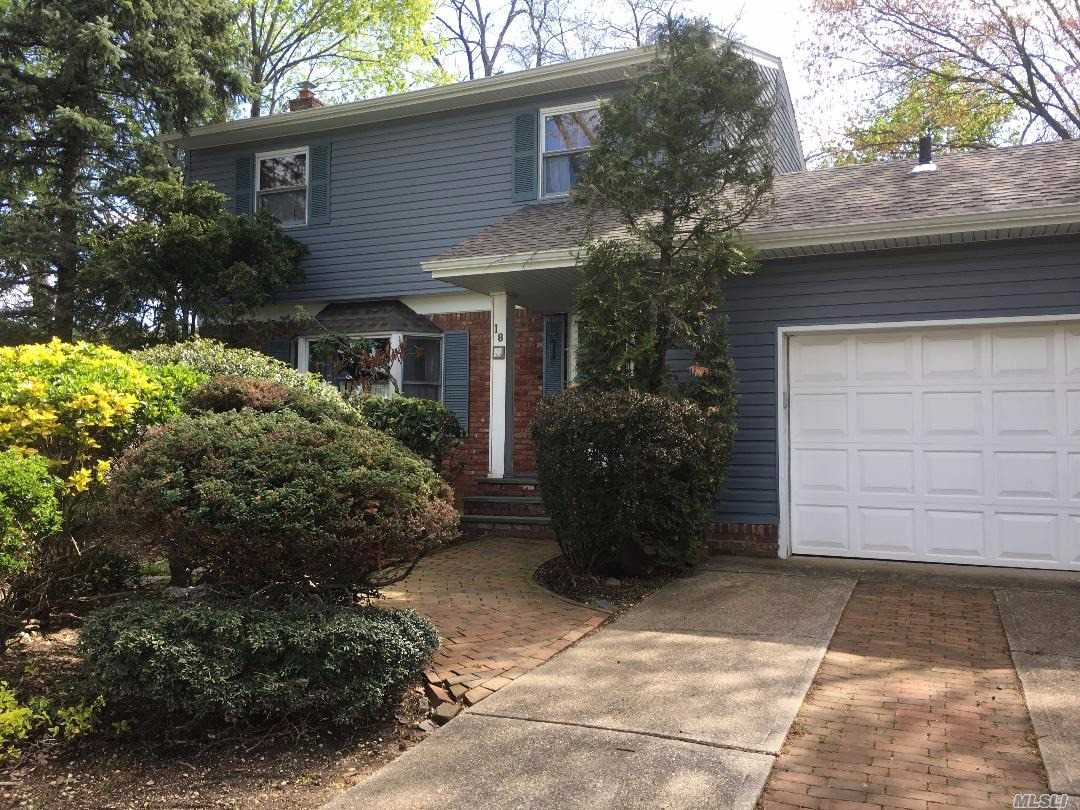 Nice Colonial in Maynard Gardens. Great layout. Some updates include siding & roof (approx. 5 yrs old). updated gas heating system. Huge family room with (gas) brick fireplace. All the rooms are large rooms. Hardwood floors, 3 bedrooms, 1.5 bathrooms. 2 car garage. Large lot and a great location.
