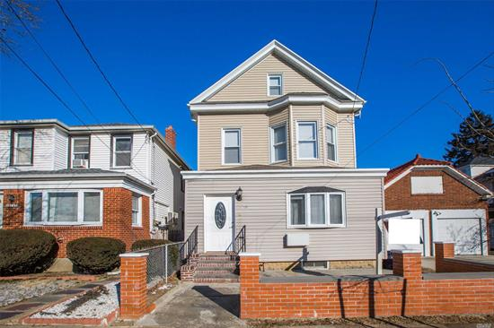Super Rare Find Det 2 Family Home Situated In North College Point. Diamond move in condition. 3 Floors Plus Basement With Separate Outside Entrance. 7 Br 4 Full Baths. Complete Renovation Done In Recent Yrs, Well Insulated. Modern Kitchens Feature Granite Countertop Hardwood Cabinet Energy Efficient Stainless Appliances. 4 Split Heat/Cold Units. Lots Of Windows And Storage Rooms. Mins of walk To Macneil Park With Amazing Water View.