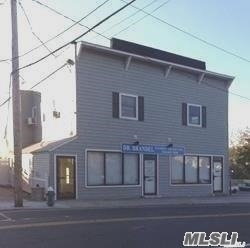 Great, updated office space in 2 story freestanding building with parking in private lot. This is a turn-key office rental. Great location ! Just south of Merrick Rd, near Foxhurst Rd. Tenant pays electric and heat only. Desirable location and close to all!