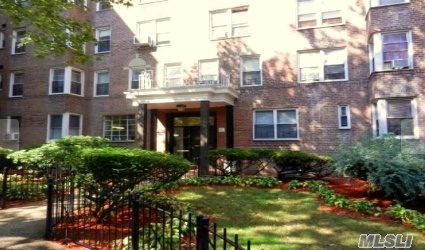 Bright 2nd FL 2 Bed Co-Op Apt Featuring Ample Closet Space, Hardwood Floors and Renovated Kitchen, Well Maintained Mansfield Gardens - All Utilities Inc. Resident superintendent, laundry room, Elevator, neatly landscaped grounds, and an indoor parking garage. Centrally Located Nr Brooklyn College, and the Junction Shopping Area and the King Plaza Shopping Mall, Coffee shops, restaurants, banks, Subways, 2 & 5 B103, Bm2, B6, B11 & Q35 Buses.,