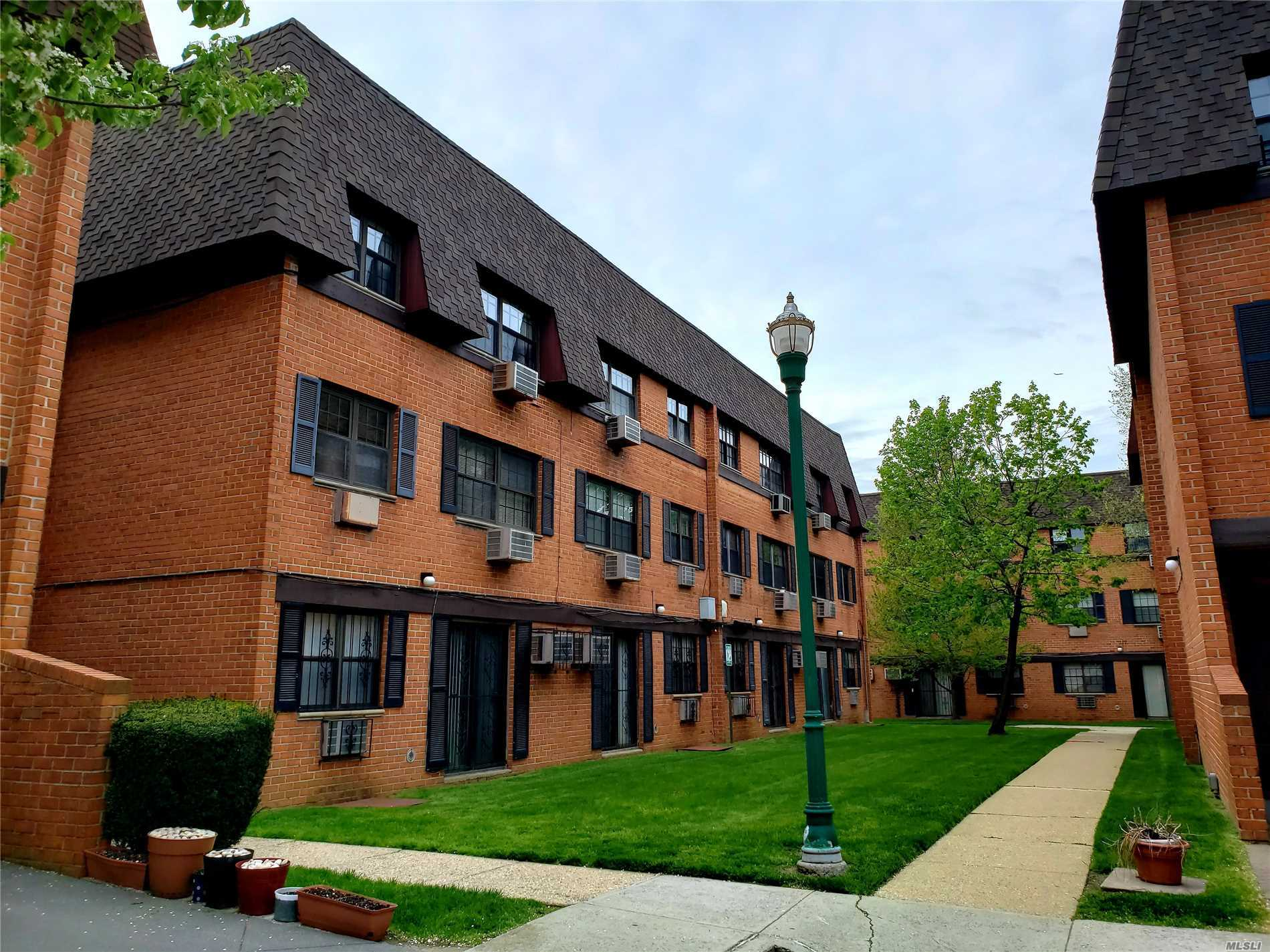 Meticulously Maintained 3 Bedrooms and 2 full bathrooms. Gracious Living Space, Expanded Master Bathroom, Skylight in Kitchen Blares Natural Sunlight, Laundry in unit, Closets & Wood Floors Throughout, School District #26. Close To Major Highways, Ground Transportation Q27, Q30, Express Bus To Manhattan QM5. QM8, QM35, Shopping & Restaurants!!! One Parking Space Included