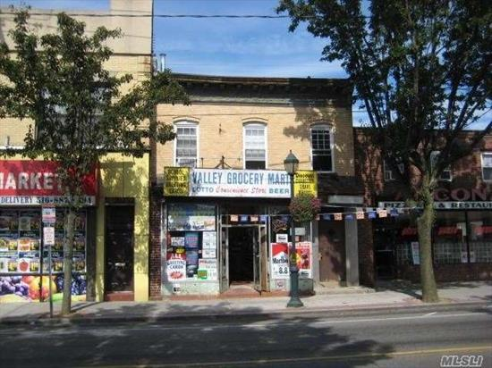 Excellent Opportunity to Establish a Business. Spacious Retail Storefront Offering 2, 450 sq ft. Currently Operating as a Convenience Store.