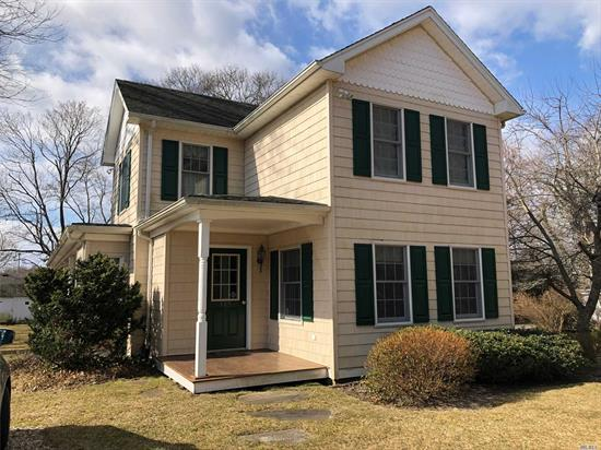 Unbelievable Restoration Of Older Farmhouse With All The Modern Amenities! Home Features A Stunning Farm Kitchen, Large Wrap Around Porch And Deeded Access To Mattituck Inlet Practically In Your Backyard. Walk To Love Lane And The Train Station. Move Right In To This Charming And Warm 4 BR, 3 BA Farmhouse!