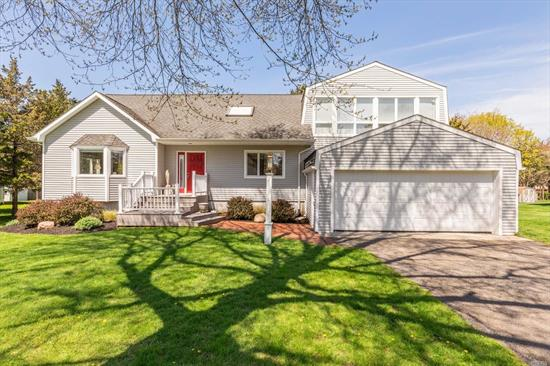 Spacious 4 Bedroom, 3 Bath Located In The Coveted Terry Waters Beach Community A Few Steps From Peconic Bay. Home Features Large Deck With Pool For Entertaining, Deep Back Yard With Bocce Ball Court & Plenty Of Room For Kids To Play.