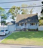 Expanded Cape in the heart of West Islip, with a full attached 1 car garage, a Living Room, Formal Sitting Room, Dining Room, and High Top Counter Seating. 1 Full BR and 1 full bath on the first floor. 2 Large BR and second full bath on the second floor. Master has two large closets and a lot of storage crawl space. Full finished basement with office/room for mom and plenty of storage. Burner and Hot Water Heater are fairly new. Close to Babylon Village, train station, and shopping.