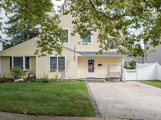 Beautiful Expanded, 2 story, 5 Bedroom Ranch in the heart of Syosset Groves with Natural Gas cooking and heating!!! 1st Floor- 3 Bedroom, 1 Full Bath, EIK, LVR, FDR. 2nd Floor- 2 Bedroom, 1 Full Bath. New HVAC System, updated bathrooms and kitchen. South Grove Elementary, H B Thompson Middle School and Syosset High School. A must See!