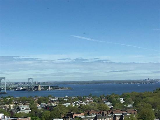 Best Views... Water/Bridge views Every Room.....Priced to Sell !.....RARELY ON MARKET--Most Sought After-- H Line----Motivated Seller--Large 2 Bd Rm- 2 Bath-- Lots Closets- -Mstr BR 8 x8 Walk In--CUSTOM Wood Floors--Luxury Complex, All Amenities, gated,  year round health/fitness center; shopping arcade; restaurant on premises;deli;beauty salon;dry cleaners;tennis courts; heated/domed pool plus so much more a must see. Walk Bus and Shopping ... VIEWS VIEWS VIEWS--assess $321-