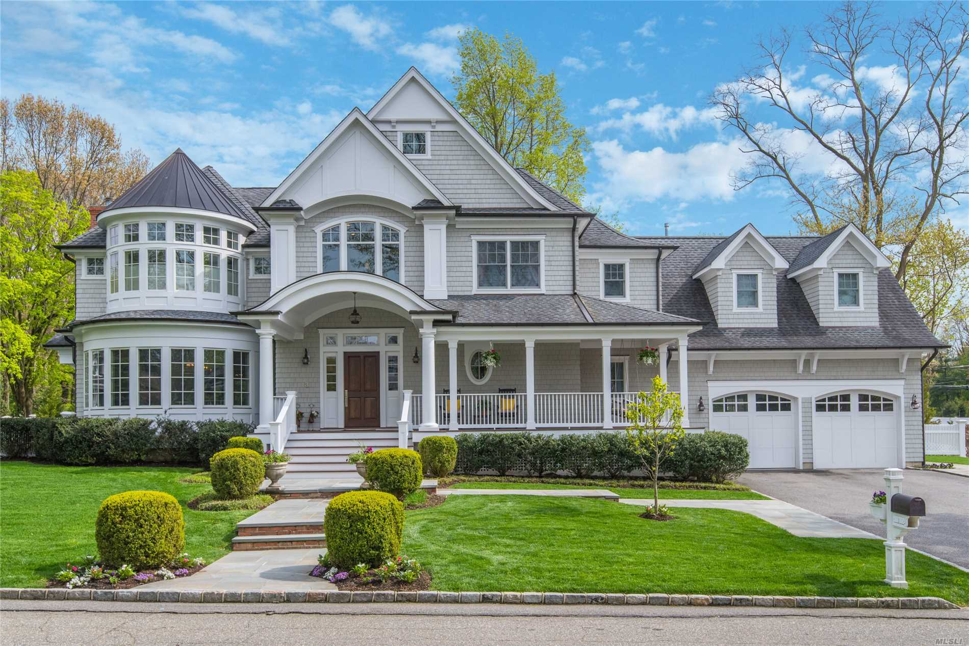 This Architectural Gem Is Now Available In The CSH Midland Section. This Custom Home Offers An Expansive Two Story Foyer W/Coastal Chic Design. Formal Dining Rm Showcases Beautiful Barrel Shaped Wall of Windows & Elegant Ceiling Detail. Family Rm Features Gas Frpl, Wall of Windows & French Doors Overlooking Covered Bluestone Patio, Landscaped Yard & IG Heated Pool. Designer Chef Kitchen, Mudroom, Laundry Rm, Back Staircase, Gorgeous Master En-Suite, Too Much To List..A Truly Exceptional Home!