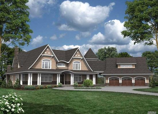 New to be built custom home with many custom designs available. Level lot. Meticulous construction. Well known builder. Over 75 built homes. Call to have your home designed today!