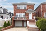 Large 2 Family House Situated In The Heart Of Whitestone. It Features 6 Bedrooms, 3 Full Bathrooms And 2 Half Bath, Hard Wood Floors, Full Basement And 1 Car Garage And Driveway. Near Mass Transit, Shops, Schools, Parks, Major Highways And All. Zoning R3A,  Excellent Condition And A Must See.