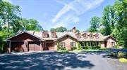 Gorgeous Brick Farm Ranch w/hardie plank siding, composite slate roof, Estate setting, Culdesac street, banquet sized FDR, Country club resort rear Yard w/upscale heated gunite IGP w/hot tub. Full fin. LL walk out, abuts preserved county land (13 acres) Top of the line everything, California closets thru-out. Geothermal heat, Cvac, Bocce Court, Huge paver Patio. Too much to list, Must see !