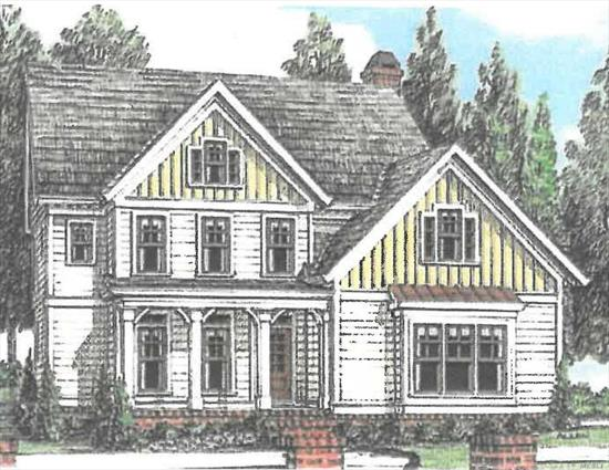New Colonial Home being built with the ability to customize everything! This beautiful home will have 4 Bedrooms, 2.5 bathrooms, large foyer, Crown moldings on entire 1st floor, raised panel walls in Living Room and dining room, choice of wood cabinets and stone counter tops, 3 & 1/4 inch wood floors on entire 1st floor, wood floors on upstairs landing, 2 by 6 construction, full basement, rear deck, and a front porch. Located in a very desirable neighborhood of St. James. other models available