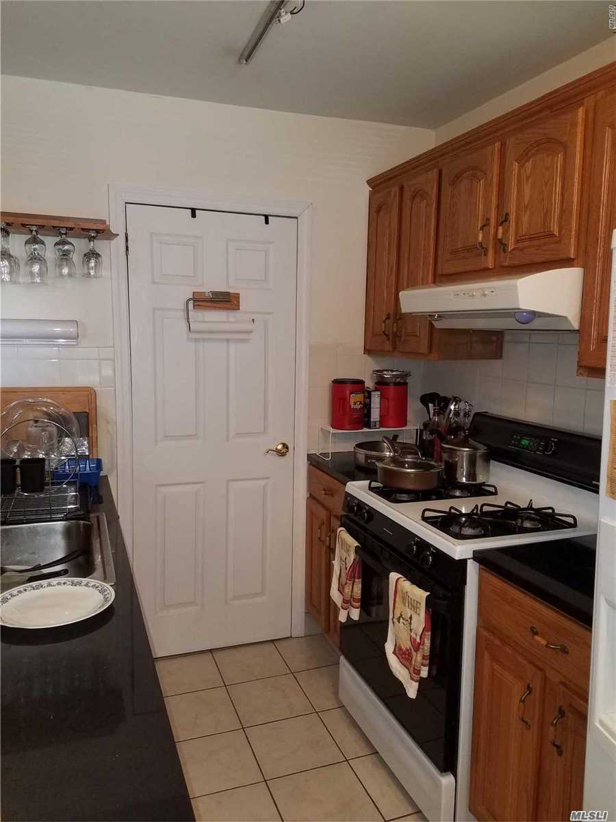 Very Clean, Totally Renovated Two Bedroom(Size 5) Lower Level Clearview Coop Located In The Most Convenient To Everything Section Of The Development, Updated Kitchen With Pantry, Oak Cabinets, Granite Counters, Dishwasher, Updated Bathroom With Shower Floor To Ceiling Tile, Washer & Dryer In The Unit, Seven Closets, Hardwood Floors Throughout, Public Basement Strorage, Walk To Dining, Shopping, NYC Local&Express Bus, Schools, Park, Parking Available, Beach Rights,