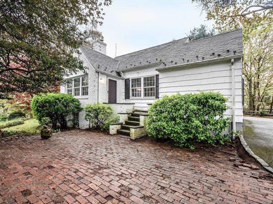 Quaint & Charming Cape located in sought after Manhasset Bay Estates. Almost a 1/4 acre, plenty of room to expand. Conveniently located near Pine St Park, LIRR, & just up the block from your own private beach. Home is equipped with whole house gas generator, gas cooking and located on a dead end. Amenities include, dock, beach, Party area for BBQ;s, bathrooms, Kayak rack and mooring for boat. Taxes are being grieved, based on over accessed value.