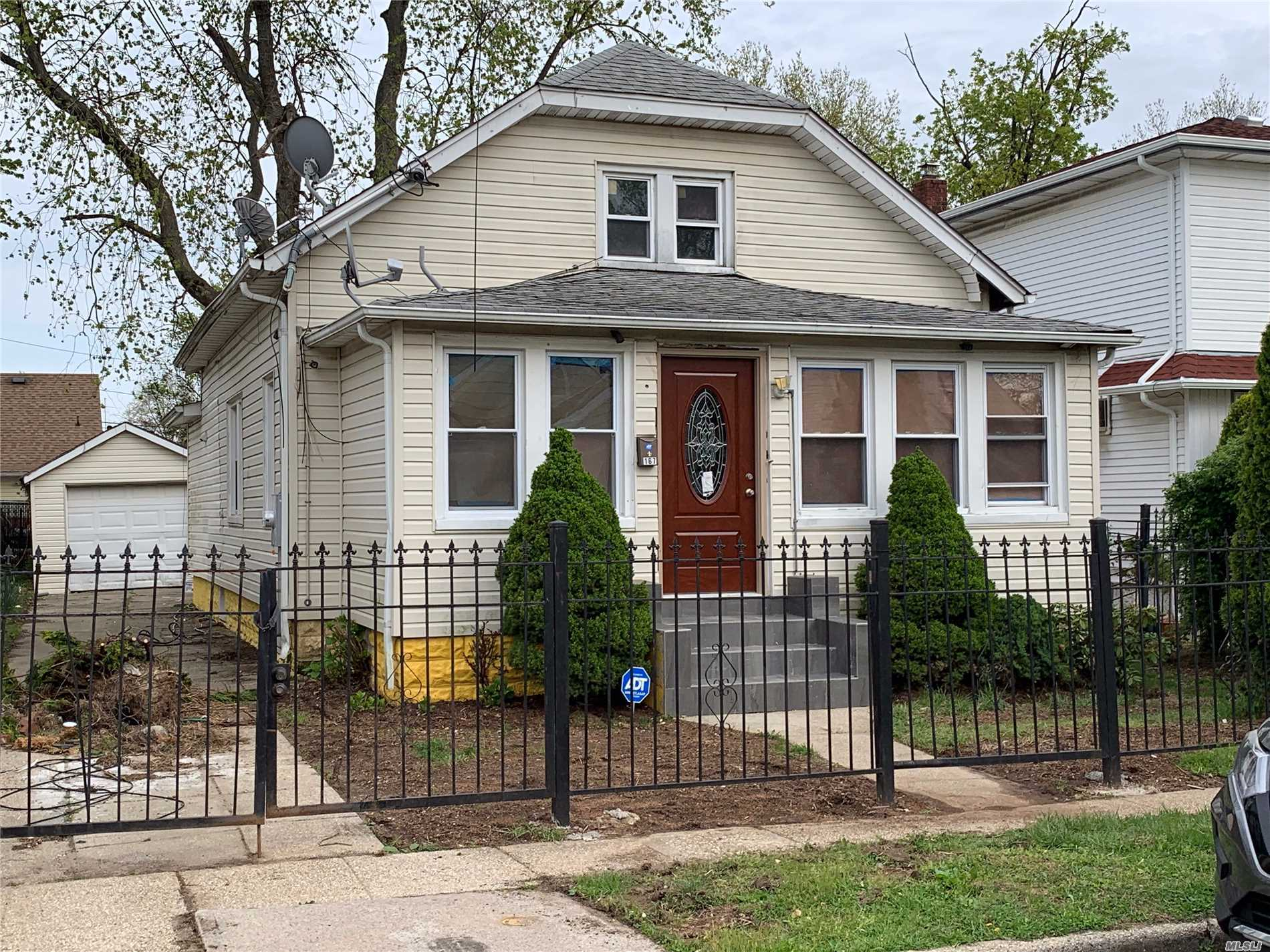 This is a fully renovated home with very nice sized private rooms with wood floors, New heating system, ultra modern granite styled eat in kitchen with top of line SS appliances. If you missed the last one, don't miss this one.