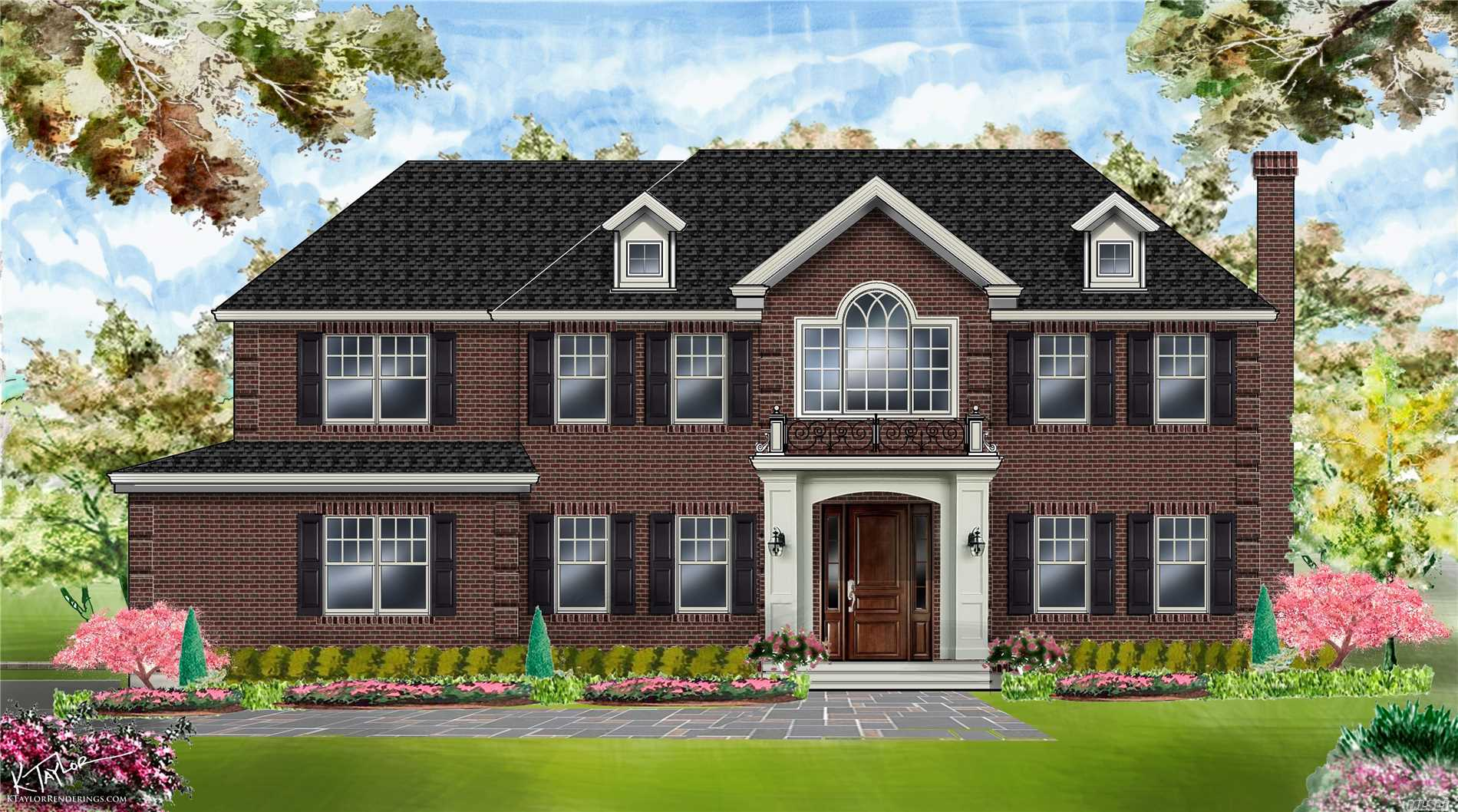 Newly Constructed Grand & Stately 6 bedroom, 6.5 bath Brick Center Hall Colonial offering 4540 sq ft of luxury plus 2000 sq ft finished lower level. Opportunity to work with builder now to make selections on interior finishes with late summer completion. Radiant heated baths. The choices are endless to create your dream home.  All on .34 acre in the heart of Strathmore. Walking distance to Americana shopping & restaurants .