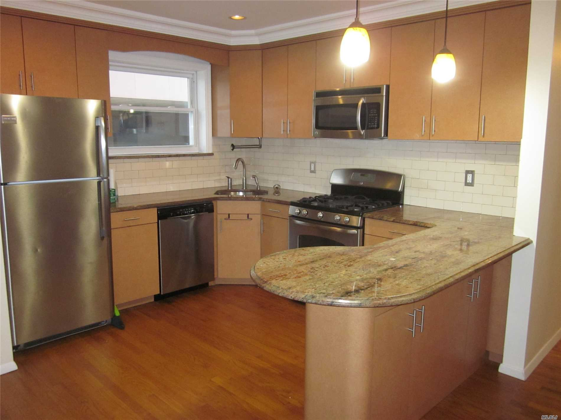 Open concept living room/dining room 3 bedroom 1 bath Apt near all major highways and NYC buses. The Apt features all hardwood floors through out with updated stainless steel kitchen appliances only water is included.