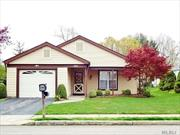Beautiful Detached Ardmore Model w/Covered Front Porch, In The 55+Active Community of Leisure Knoll. Great Location W/Serene Over-Sized Backyard Makes This Lovingly Maintained Home Extra Special. Offers Living Room, Dining Room, Eat In Kitchen, Master Suite W/Bath, 2nd Bedroom and Bath. Oversized Garage With Direct Access To This Home. Freshly Painted, New Central Air Conditioner, Newer Appliances, Hot Water Heater, and Roof. Countless Activities Including Tennis, Bocce, Pool, Crafts, and More..