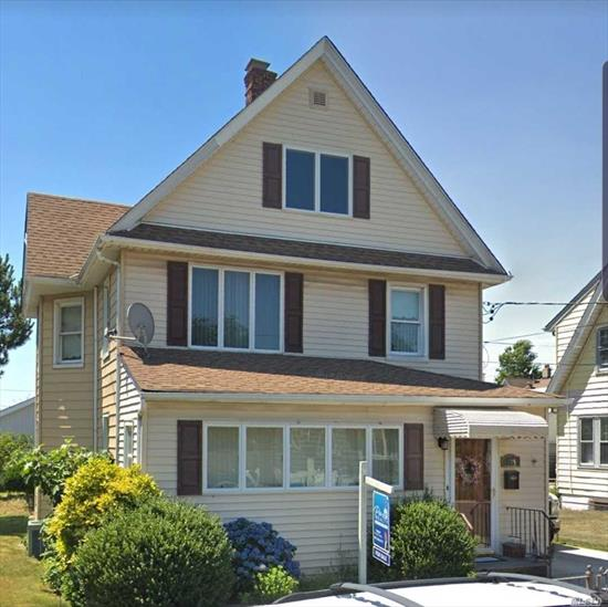 5 bed 2 bath capacious colonial with walk up attic Low taxes , centrally located  large yard with 2 car garage