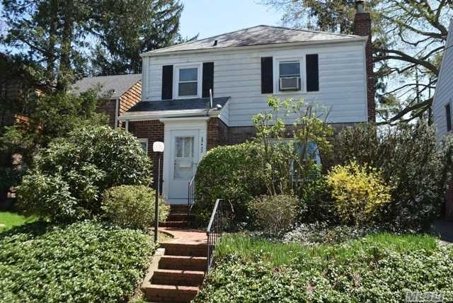 Charming 3 Bedroom Colonial in the Lakeville Section of Great Neck with Hardwood Floors Throughout. Living Room with Fireplace and Crown Moldings, Formal Dining Room, Renovated EIK with Gas Cooking, Alarm System, New Windows, Automatic Garage Door Opener. Great Location Close To Lakeville Park, Northern Blvd. with Shopping and Transportation. Great Neck South Middle & High Schools, Lakeville Elementary. In the Great Neck Park District with Tennis, Pool, Ice-Skating, Boating & Parks.