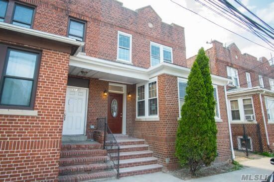 Brick Semi-Detached 2-Family House Located One Block From Everything On Northern Blvd: Supermarket, Restaurants, Coffee House/Bakery, Pharmacy, Banks, Library And More. Near P.S. 228, Luis Armstrong Middle School, Northern Playground. Q66/72 Bus Stops.