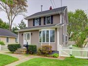 This charming and spacious Colonial is located near the LIRR and Bellmore Village. The open floor plan allows for gracious entertaining. Wood floors, 2 car detached garage, new siding and stoop, private yard, gas, SD#7. Hurry!