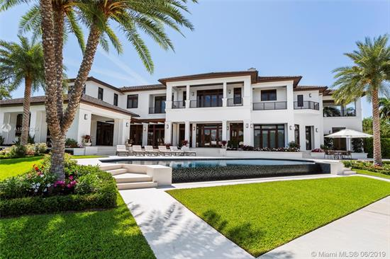 This Newly Constructed, Modern Yet Transitional Masterpiece Has Single-Handedly Changed The Tone Of The Gables Estates Waterfront Landscape. 115 Arvida Is Now Available For The Discerning Buyer Who Demands The Utmost In Quality And Well Thought Out Design By Pacheco Martinez & Associates. Completed In 2018, The Expansive 14, 713 Square-Foot Home Includes An Array Of Luxury And Security Features And 280 Feet Of Pristine Water Frontage. The Soaring Ceilings Give An Air Of Grandeur, While Rich Stone Floors And Mahogany Woodwork Are Unified Throughout. The Master Bedroom Suite Is The Ultimate Escape, With A Massive Bathroom And Three Terraces. The Property Has 280 Feet Of Water Frontage On Two Sides, Taking Advantage Of Spectacular Views And Direct Ocean Access From The New Seawall And Dock.