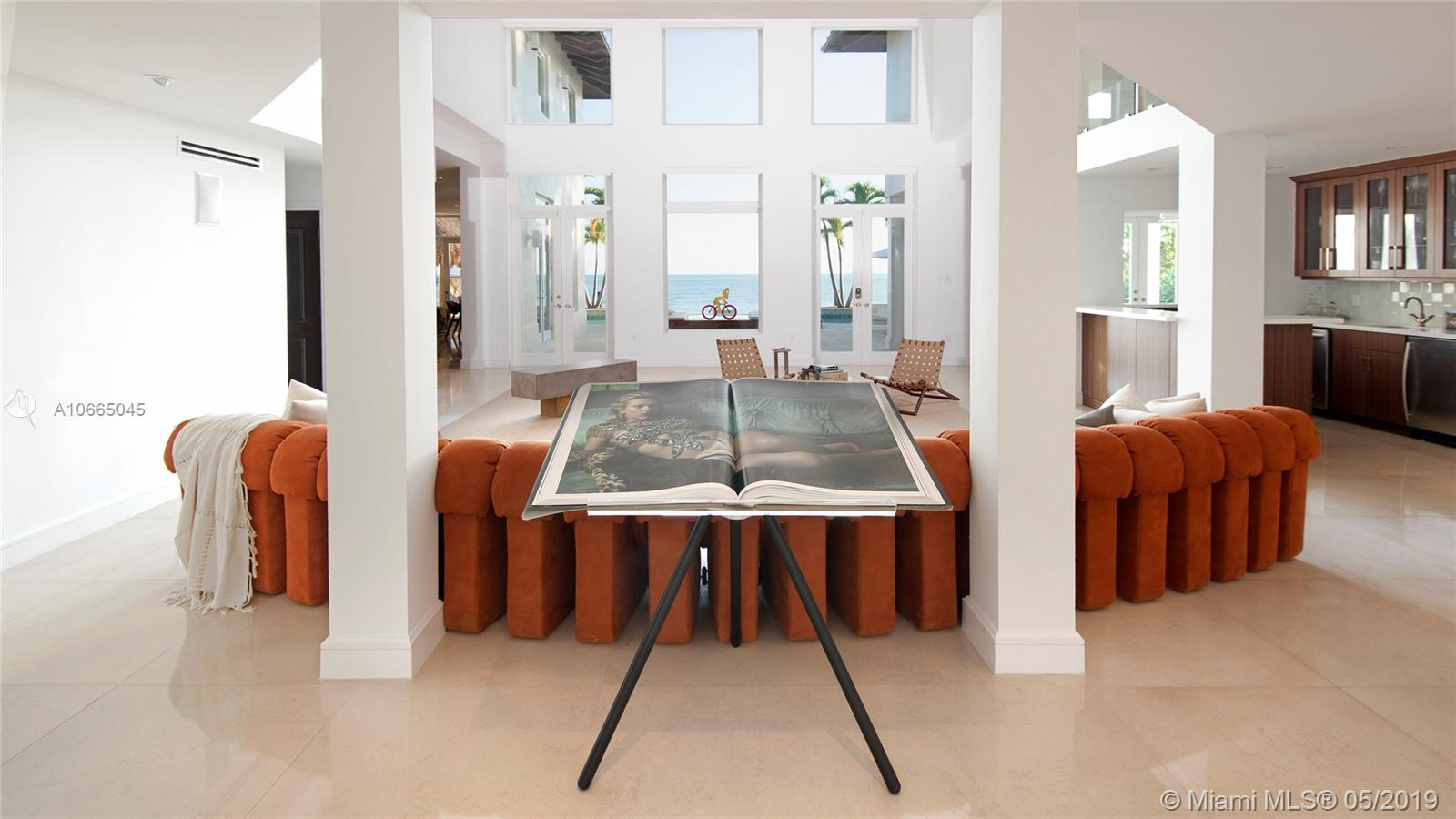 Completely Remodeled Home On Mashta Island In Key Biscayne. Walk In To Breathtaking Water Views. This Home Features 6 Bedrooms, 5.5 Bathrooms, A Gourmet Kitchen With Top-Of-The-Line Appliances, Large Dining Room & Great Room With Full Bar, Office/Media Room, Separate Maid+Ógé¼Gäós Quarters, A Large Laundry Room, And A Master Suite With Ocean Views. This House Has The Perfect Setting To Enjoy The Beautiful Sunsets While Dipping In An Infinity Pool, Perfect For Entertaining.