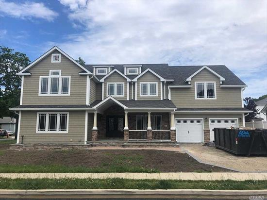FINALLY this one of a kind huge custom home situated in Massapequa Park is ready for a new family! Brand New Huge Custom built Colonial on large property. This house is a one of a kind in an absolutely amazing neighborhood. Directly across from Preserve. Huge bonus room above garage. Must see house to appreciate.