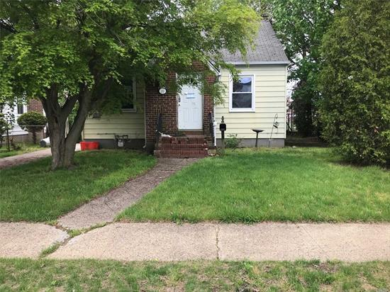 Single family residential Ranch with 2-bedrooms, 1-fullbath, private driveway, 1-detached car garage and a full basement. Subject property located close to schools, shopping centers, public transportation and JFK airport. Perfect opportunity to own a home at a very affordable price!
