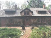 Historic 1761 and Oldest Home in Village-Skidmore House-Fully Restored W/Modern amenities. Updated Kitchen(Not Eat In), Baths, Cedar Shake Siding. Wide Plank Flooring-Rustic and Charming. A Piece of History in Beautiful Northport Village-Excellent Credit, References, 2 Mo. Security- * No use of Fireplaces***Great Care and Attention To Detail Given To This Incredible Historic Home* Central Air. Washer/Dryer Hookup available.