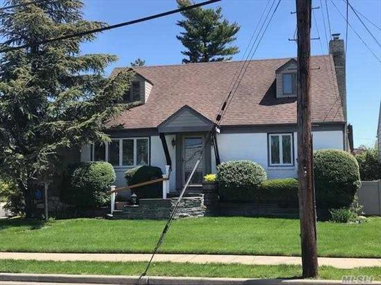 EXPANDED WIDELINE CAPE COD FEATURING 4 BEDROOMS 2 FULL BATH FULL FINISHED BASEMENT WITH PRIVATE BACKYARD