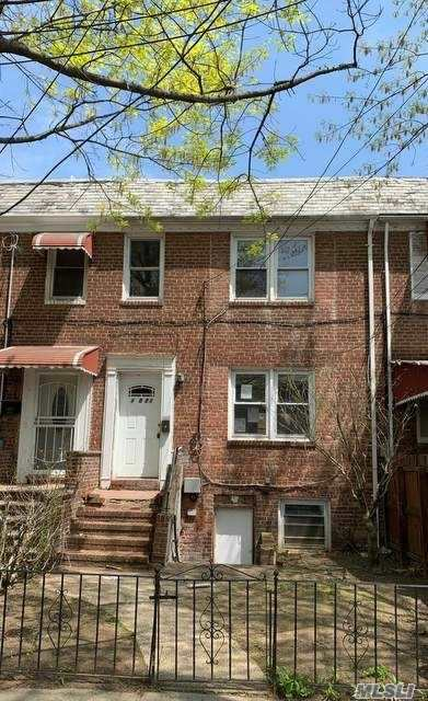 Attached Single Family House With Private Driveway and Fully Finished Basement. Property Features A Living Room, Dining Room, And Kitchen On The First Floor. The Second Floor Consists Of Three Bedrooms And One Full Bathroom.