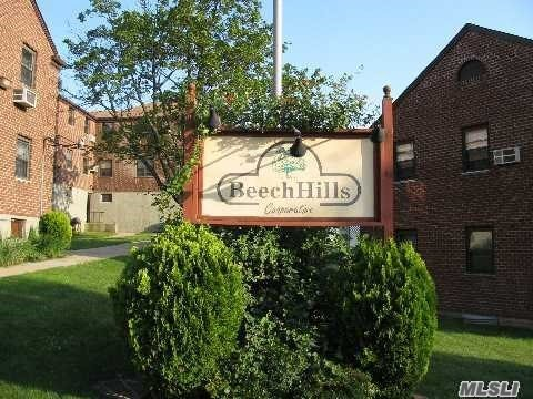 When location counts...this well priced, , 2/3BR lower corner unit located on a beautiful treelined street in Beech Hills is waiting just for you! All this apartment needs is your vision and some TLC!  The unit also offers Hardwood floors and new windows! Don't miss the opportunity to make this co-op your new home the way you want it to be!!! Monthly Maintenance Includes ALL!!! Private Sanitation 6 days a week picked up in front of your house! Close to ALL shops and transportation! SD#26