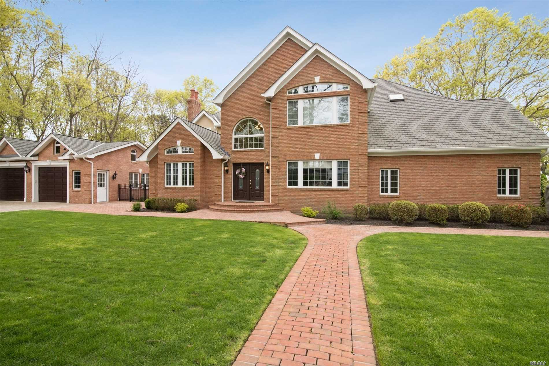 Magnificent 5 Bedroom 4.5 Bath Home With Cul de Sac Location.Attn To Detail In Every Room.Beautifully Designed Custom Kitchen With Cherry Cabinets, Granite, Top Of Line Appliances, Formal Din.Rm, Family Rm W/Fp, Formal Liv Rm, Theater Room Surround Sound, Room For Au- Pair, Wood Floors, Custom Molding Thru-out. Master En-suite, Finished Lower Level-Play Area, Office, Bar, Bath, Full Walk Out.Heated Mineral Water Pool W/Waterfall, Private Yard, Detached 2.5 Garage With Lower Level Walk Out Perfect For Storage.