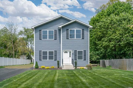 Welcome To This Beautiful New Construction Colonial! Situated On .50 Acre. Offers 4 Bedrooms, 2.5 Baths, Eat In Kitchen, Living Room, Den, Full Basement With 8 Ceilings With Outside Entrance. Awesome Backyard With Endless Possibilities. Must See!