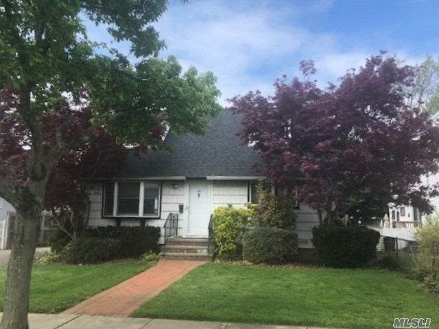 Wonderful Cape located in Hicksville. Close to all - LIRR, Shops, Restaurants. Four bedroom, 2 full baths, Hardwood floors, finished basement.