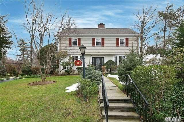 Beautiful Colonial On A Picturesque Street In The Heart Of Thomaston. Renovated, Interiors. Wonderful Hardwood Floors, New Roof, New Windows, Central Air- Conditioning, Gas Heat.. Large Property Which Sits On A Double Lot. Great Neck Park District Privileges. Minutes To Town, Train And Shops