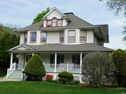 Vintage Victorian with wrap-around porch, incredible wood staircase, trim and flooring, all large rooms, original old world character and charm in a peaceful setting with a rear yard comparable to none ( w/pond and waterfall) all large rooms with plenty of space for extended family living.