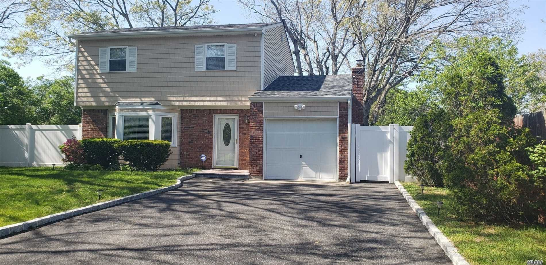 Beautiful 5 Years Young Colonial on private dead end street. Kitchen with center Island, Granite counter tops, Stainless Steel Appliances, New roof, windows, siding, boiler, 200 Amp electrical Service, 4 car driveway, All large bedrooms, Move right in!