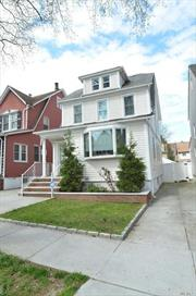 3 BR, 1.5 BA, formal living room, dining room, full finished basement, basement come with separate outside entrance, finished attic, 1 car garage with driveway. Conveniently located near great schools PS79 & JHS 185, shopping area, major highways & public transportation.