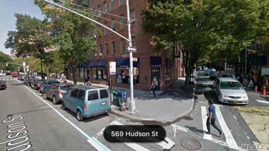 Location ! Location!! Location!!! Manhattan Greenwich Village ! Storefront with Basement !!! Corner Unit !!! Best Business opportunity !!!