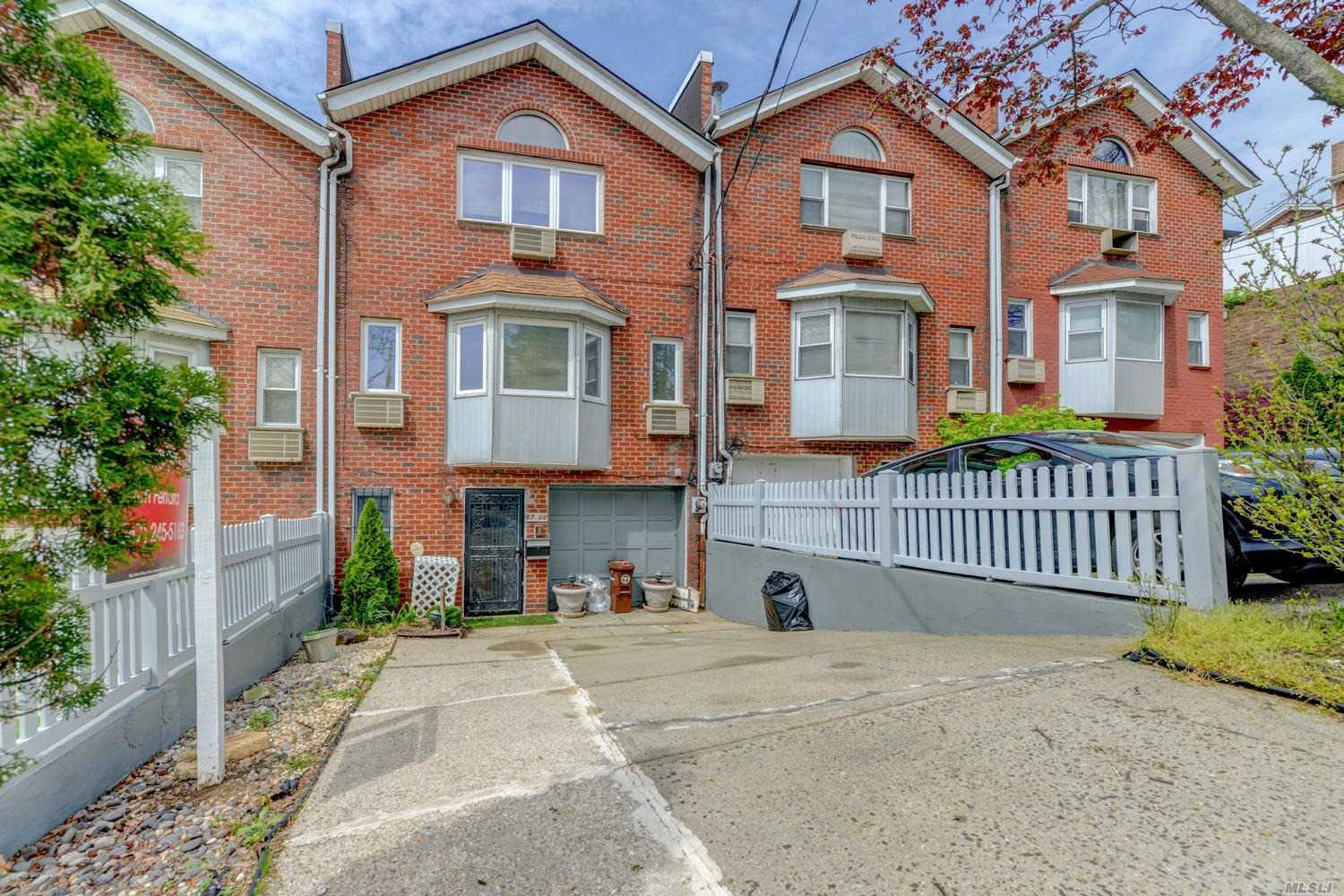 Come See This Beautiful 1 Family Townhouse In Jamaica Estates! Located In Prestigious Jamaica Estates, This 3 Bedroom 2.5 Bathroom Townhouse Has a Private Driveway, Garage, And Backyard ... Close To Shopping And Restaurants ... 1 Block From Hillside Ave ... Call For More Details ...