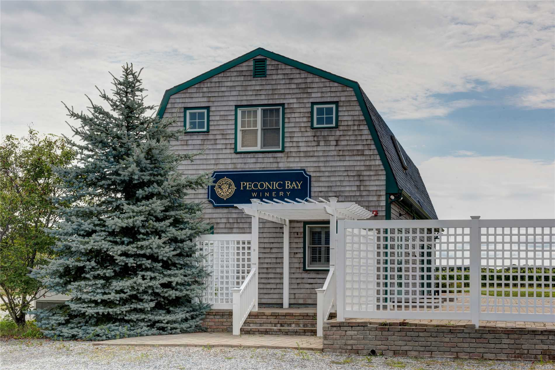 53 Acre winery. 16 of the 53 acres zoned for commercial development. Potential exists for a 20 unit motel, restaurant/catering complex and roadside retail farmstand to complement the vineyard and tasting room. 4 bedroom house included. Endless possibilities - all subject to town site plan and Suffolk County Health Department approval.