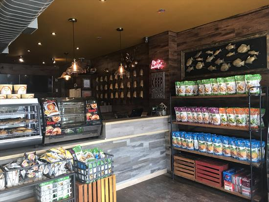 Well Established Fusion Thai Take Out/Delivery/Catering Restaurant for Sale. Busy Location with lots of Pedestrian Traffic.  Fully Equipped kitchen and Inventory Included. Buyer is Responsible for Rent, Water, Utilities and Taxes. A Great Opportunity!